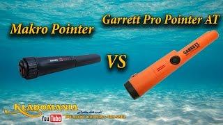 Garrett ProPointer AT vs Makro Pointer