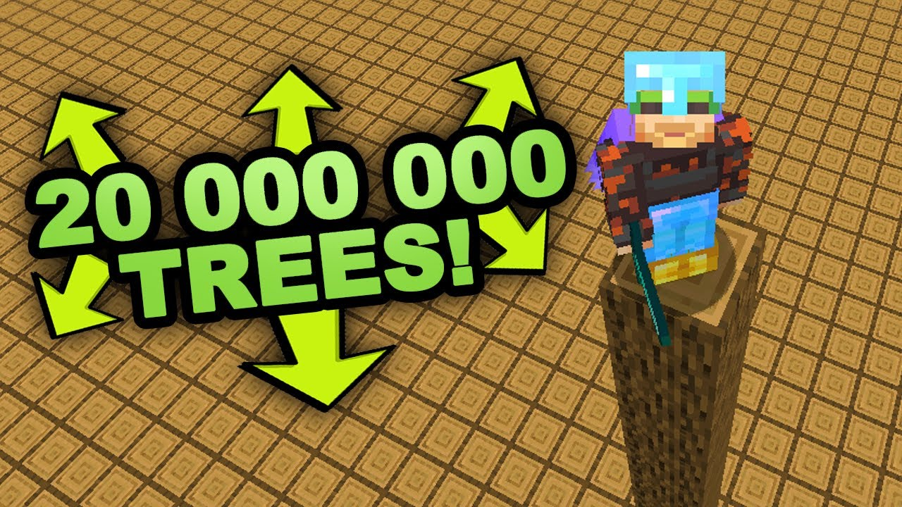 I plant 20 000 000 Trees in Minecraft (Not Creative) image
