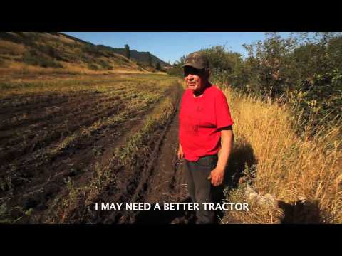 """""""Wolverine"""" is an Indigenous Warrior Growing Food for the Movement. You can help!"""