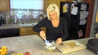 Raw Vegan Recipes -- Waldorf Salad For Thanksgiving