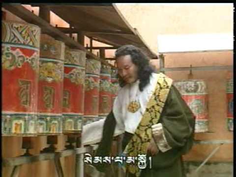Tibet, Amdo song: Bumo Tsering Songmo, by Dubey (Original)  吐蕃音乐, 弹唱