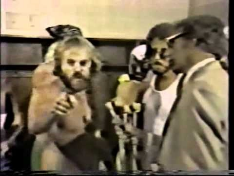 Kevin Sullivan quits First Family after losing tag title (7-13-81) Classic Memphis Wrestling