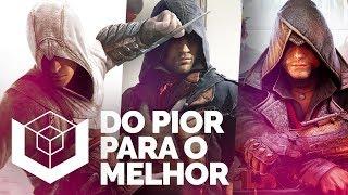 QUAL ASSASSIN'S CREED É O MELHOR? - Ranking do pior ao melhor da série