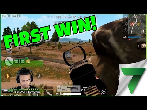 FIRST WIN IN PUBG MOBILE! ADRENALINE RUSH!! | PlayerUnknown's Battlegrounds Mobile