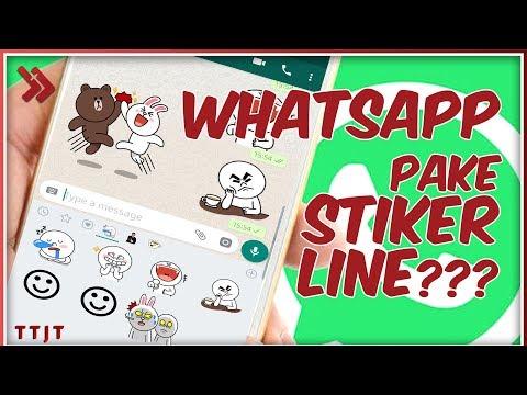 Stiker Line Di Whatsapp Ini Dia Cara Merubah Stiker Line
