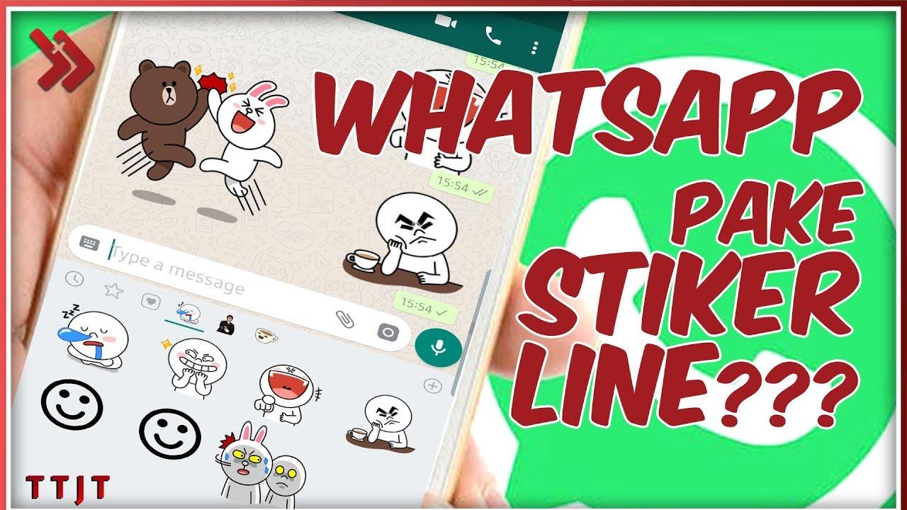 Stiker Line Di Whatsapp Ini Dia Cara Merubah Stiker Line Di Whatsapp