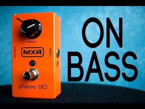 MXR Phase 90 [Bass Demo]