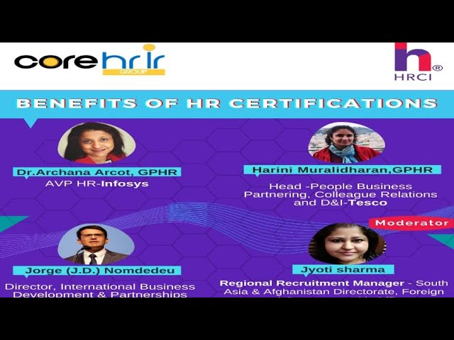 Benefits of HR Certifications