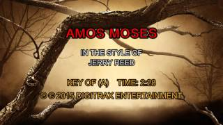 Jerry Reed - Amos Moses (Backing Track)