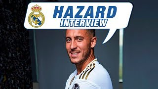 EDEN HAZARD | EXCLUSIVE INTERVIEW | Champions League