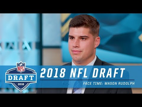Mason Rudolph Talks About Hoping for Pittsburgh, Getting Drafted with a Teammate | Face Time