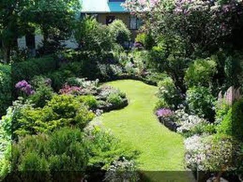 como hacer un jardin hermoso youtube
