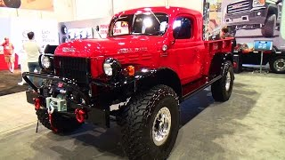 1947 Dodge Power Wagon SEMA 2014
