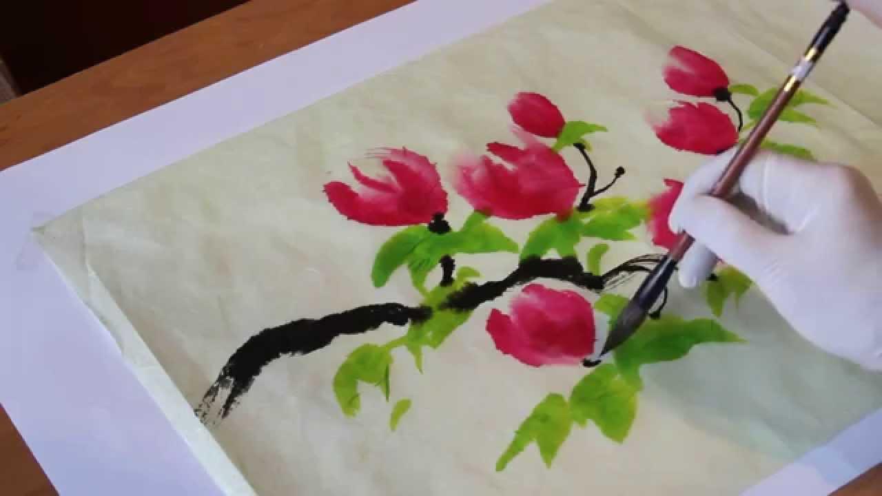 Китайские цветы
