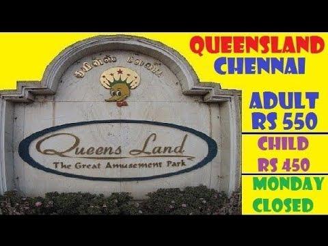 QUEENSLAND AMUSEMENT PARK CHENNAI || COMPLETE TOUR