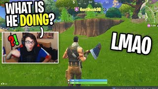 I Spectated A Default NOOB and Copied EVERYTHING He Did on Fortnite (best strategy ever) thumbnail