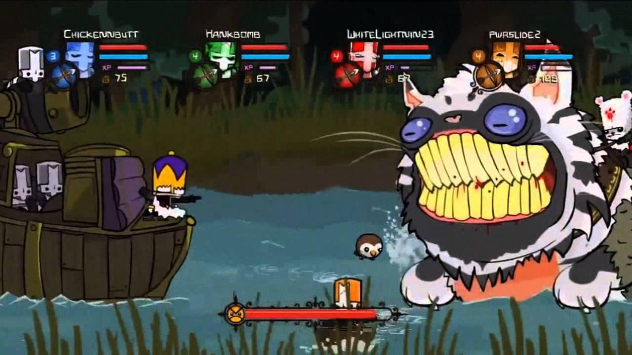 Castle Crashers- Gameplay Trailer - YouTube