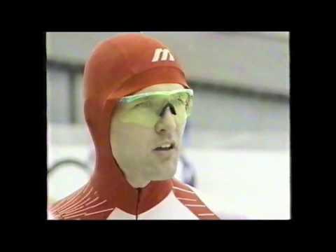 DAN JANSEN Albertville 1992 500M SPEED SKATING