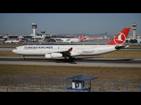 Turkish Airlines Fleet at Istanbul Atatürk Airport 2016 | Airplanesloverr