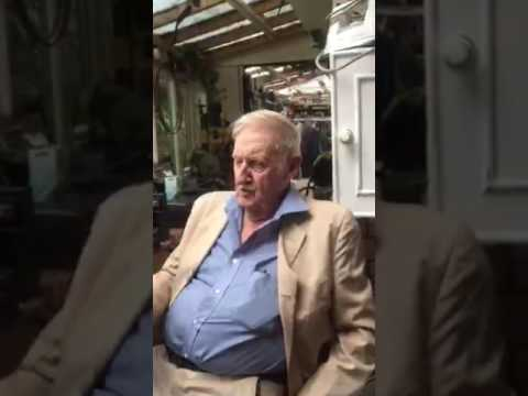 SIR TREVOR BAYLISS OBE 80TH BIRTHDAY IINTERVIEW