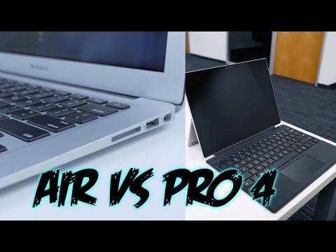 MacBook Air vs Surface Pro 4!