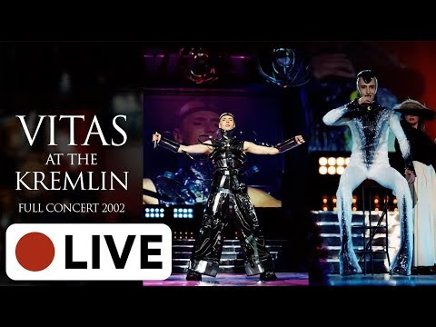 [???? LIVE] VITAS – Full concert: Philosophy of Miracle / Философия чуда 【Kremlin (Moscow), 2002】