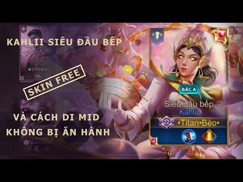 Liên Quân Mobile | Kahlii siêu đầu bếp sấy đạn không trượt phát nào - by Titan Gaming