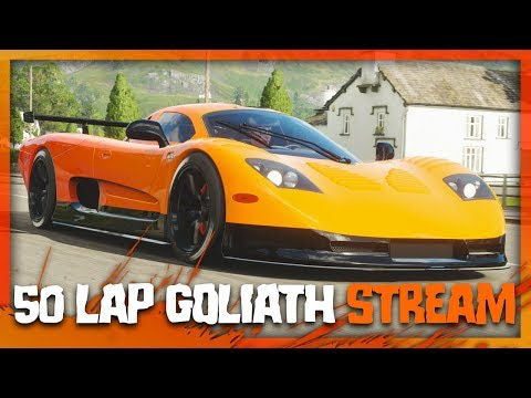 50 LAPS of GOLIATH in Forza Horizon 4!! (Live Stream) thumbnail
