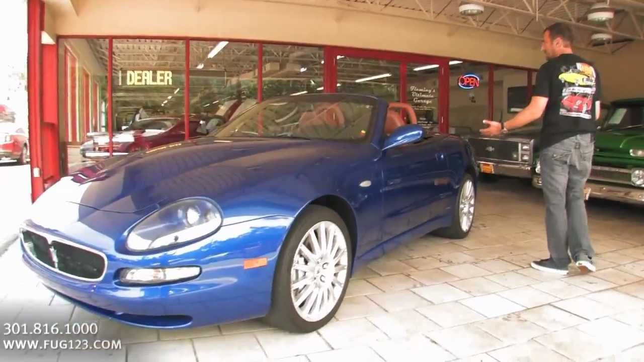 2002 Maserati Spyder For Sale With Test Drive Driving Sounds And Walk Through Video