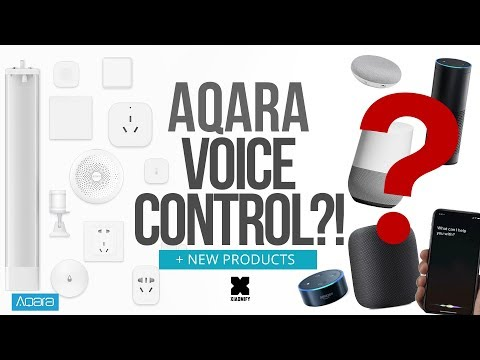 Aqara + Siri + Alexa + Google Home Voice control?!  (+New products!)