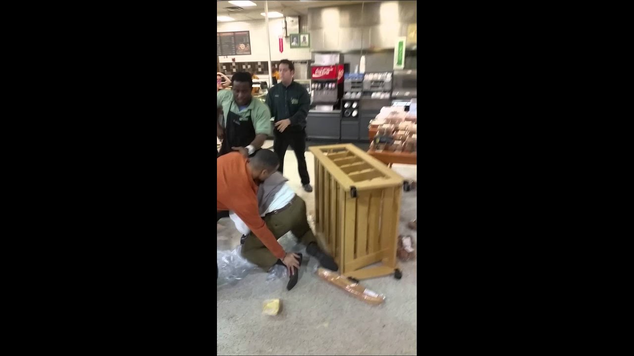 Fight in publix over chicken