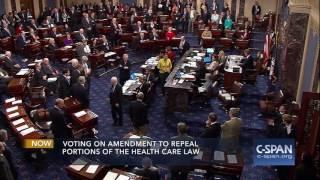 Senator John McCain votes NO on