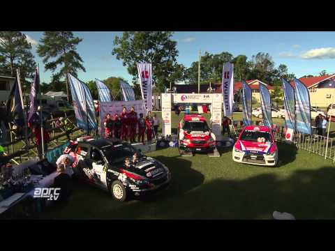QLD15   Tidemand wins Rally Queensland   action, podium and interview