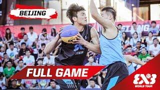 New Taipei (TPE) v Jinan (CHN) - Full Game - Beijing - 2015 FIBA 3x3 World Tour