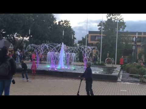 Музыкальный фонтан Palanga, Litva
