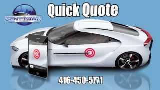 Dent Town - GTA Toronto Mobile Paintless Dent Removal - Ding - Hail Damage Repair