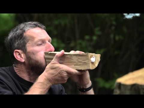 Vérifier si son bois est sec - Le test du liquide vaisselle