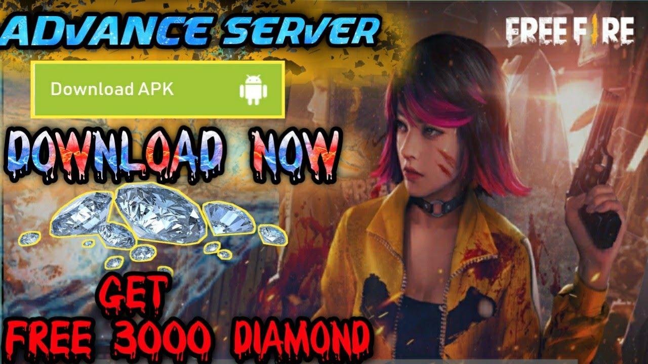 Download Advance server New Advnace server event get 3000????diamond कैसे download करे Advance serve