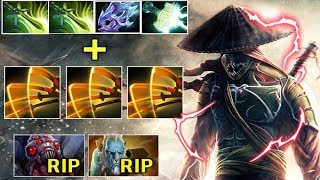 CRAZY MAX ATTACK SPEED 2x Butterfly Electric Slash Destroy Lancer and Brood Top Rank Jugger Dota 2