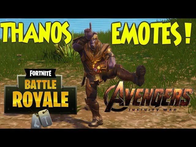 The Best Thanos Dancing Memes From Fortnite Battle Royale