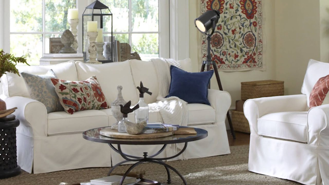 Performance Canvas Fabric | Pottery Barn   YouTube