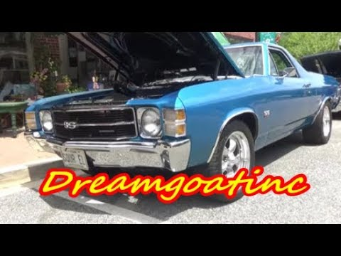 1971 Chevy El Camino 502 Big Block Dreamgoatinc Video