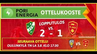 Pori Energia ottelukooste: GrIFK - FC Jazz 30.7.2019