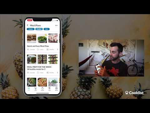 THE EASIEST MEAL PLANNING AND MEAL PREP APP