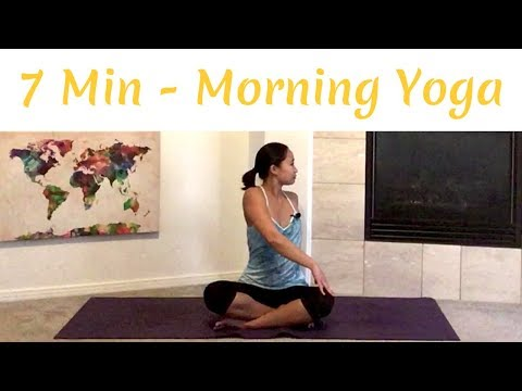 7 Easy Minutes of Yoga in the Morning