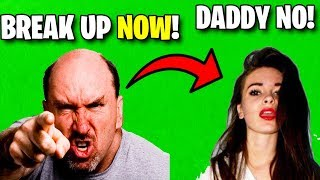 I Called MrTop5's Fortnite Girlfriend's DAD.. (ends bad)