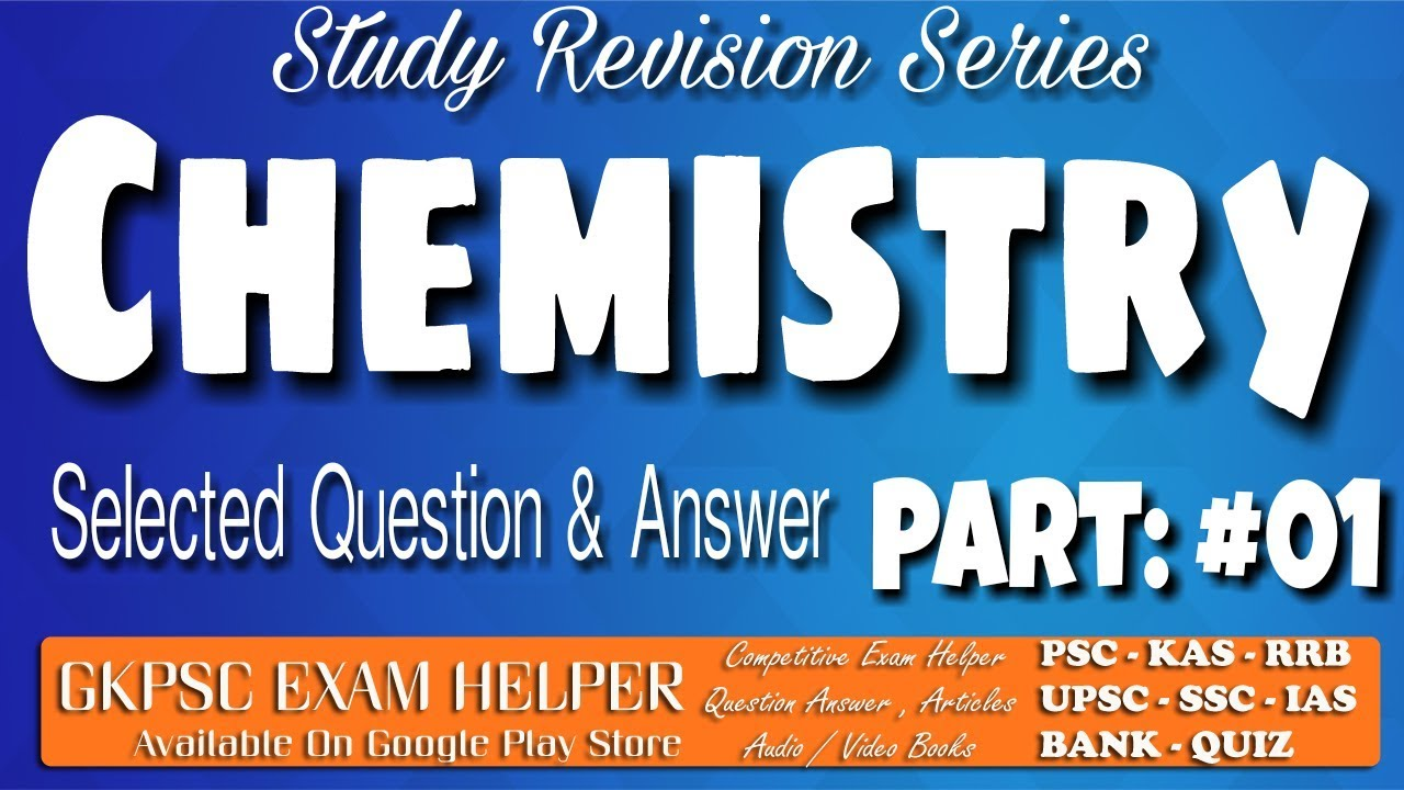 PSC Chemistry Most Repeated Previous Question Answer Kerala PSC Coaching  Class Malayalam#1