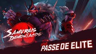 Passe de Elite: SAMURAIS DEMONÍACOS | FREE FIRE