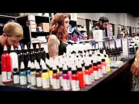 Kingpin Tattoo Supply at the 5th Annual 2017 Tampa Tattoo Convention