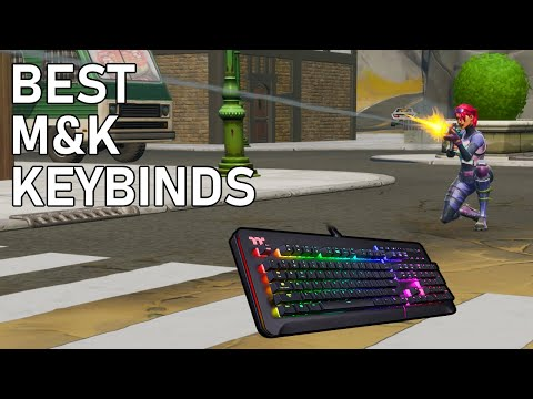 The Best Keybinds For Beginners And Switching To Keyboard & Mouse! - Fortnite Tips & Tricks